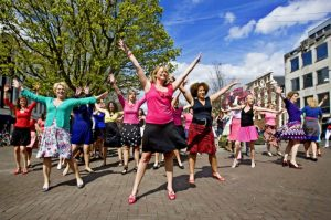 "It is skirt day. In Dutch we say ""Rokjesdag""."