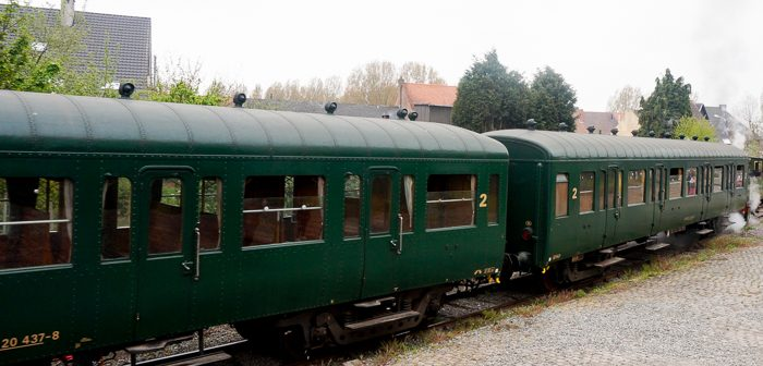 Steam Trains in Holland and Belgium Compartment