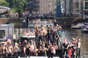 Gay Pride Canal Parade Amsterdam Leather