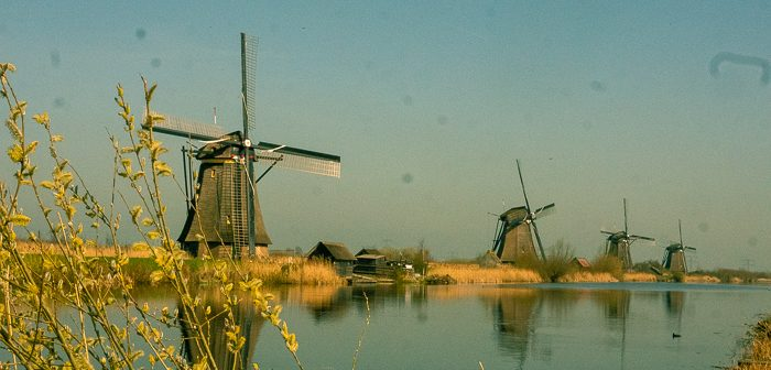 Where to see windmills in the Netherlands: Kinderdijk
