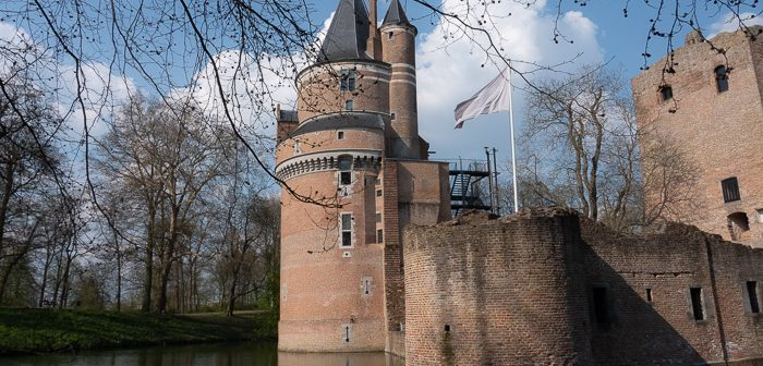 Wijk bij Duurstede Castle: Blues at the River Rhine
