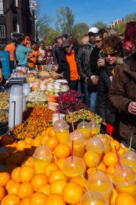 Visit Holland on the Dutch King's Day Streetfood