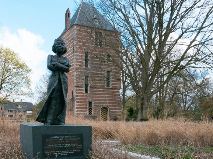 Near the Working windmill in IJsselstein is the Castle Tower