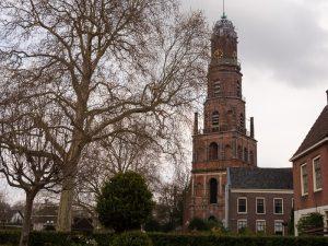 Working windmill in IJsselstein church