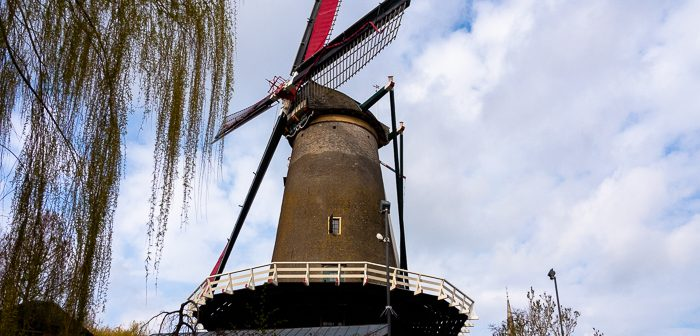Windotter in IJsselstein is one of the working windmills in Holland
