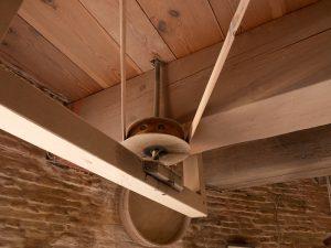 Working windmill in IJsselstein mechanism