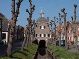 Nieuwpoort, nicest village in Holland Townhall Southside
