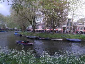 By bike through National Park in the Netherlands to the Military Museum and the Zoo The getch of Utrecht