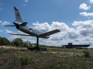 By bike through a National Park in the Netherlands to the Military Museum and the Zoo. Airforce