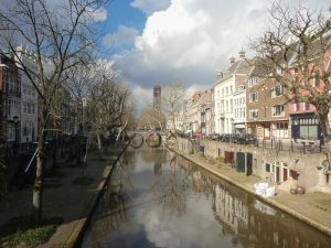By bike through a National Park in the Netherlands to the Military Museum and the Zoo. Utrecht Oudegracht