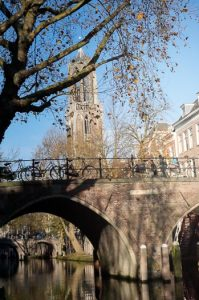 By bike through a National Park in the Netherlands to the Military Museum and the Zoo.Utrecht Canal