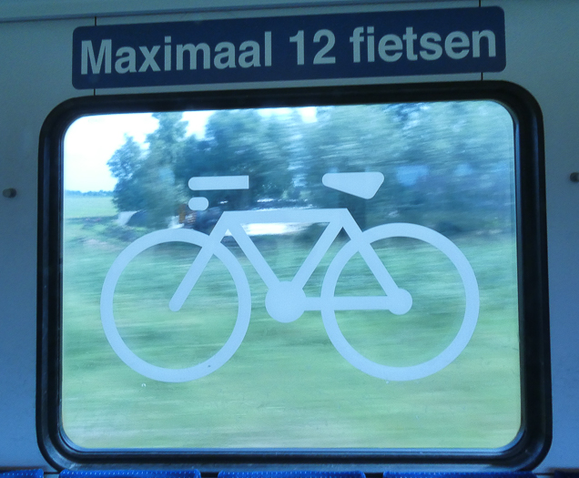 Getting around the Netherlands by bike, bus and train