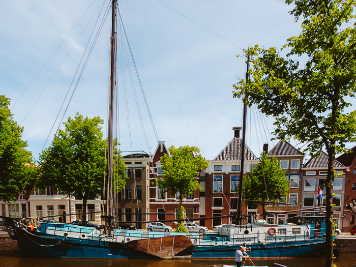 Visit 't Roegwold. Brown fleet in Groningen at Hoge der A