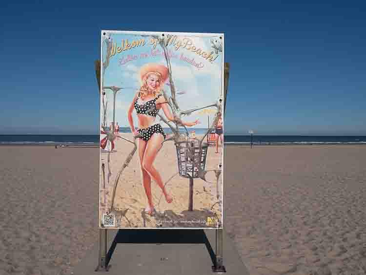 Rotterdam Beach and the Maeslantkering Clean Beach